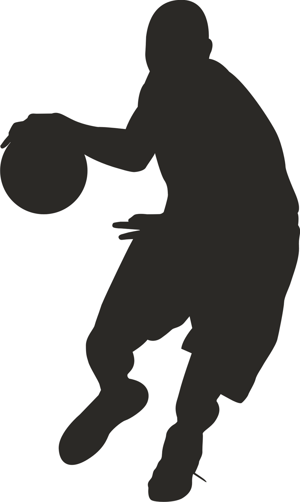 Free clipart silhouette of men watching football banner freeuse library Clipart Basketball Players | Clipart Panda - Free Clipart Images ... banner freeuse library