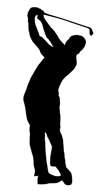 Free clipart silhouette of men watching football picture royalty free Free Image on Pixabay - Golfer, Silhouette, Swing, Golf | golf ... picture royalty free