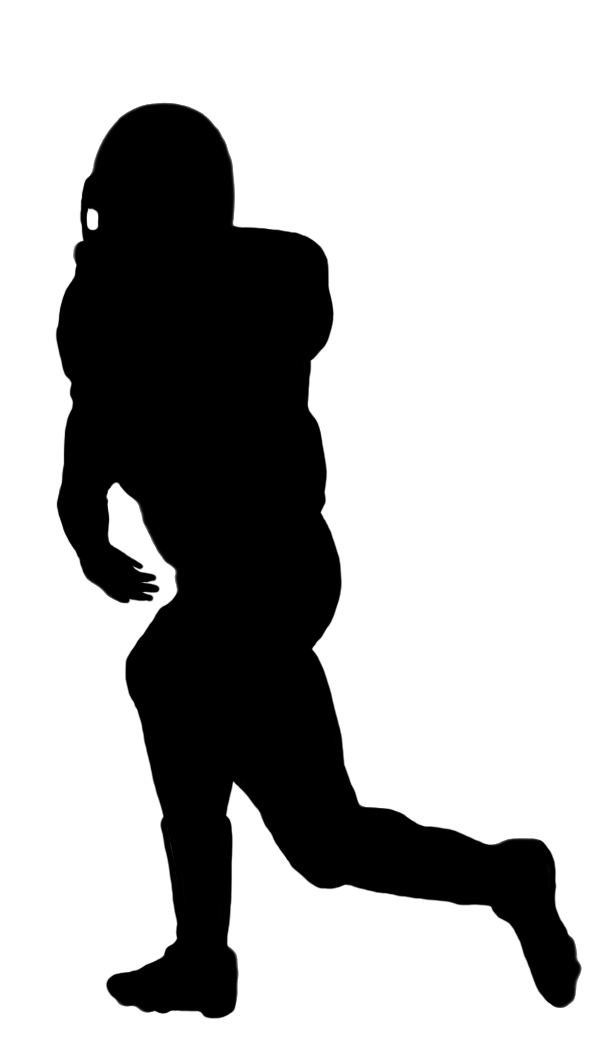 Free clipart silhouette of men watching football vector freeuse Silhouettes of People - silhouette clipart vector freeuse