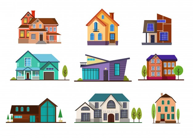 House clipart orange 2 story with garage clip library stock House Vectors, Photos and PSD files | Free Download clip library stock