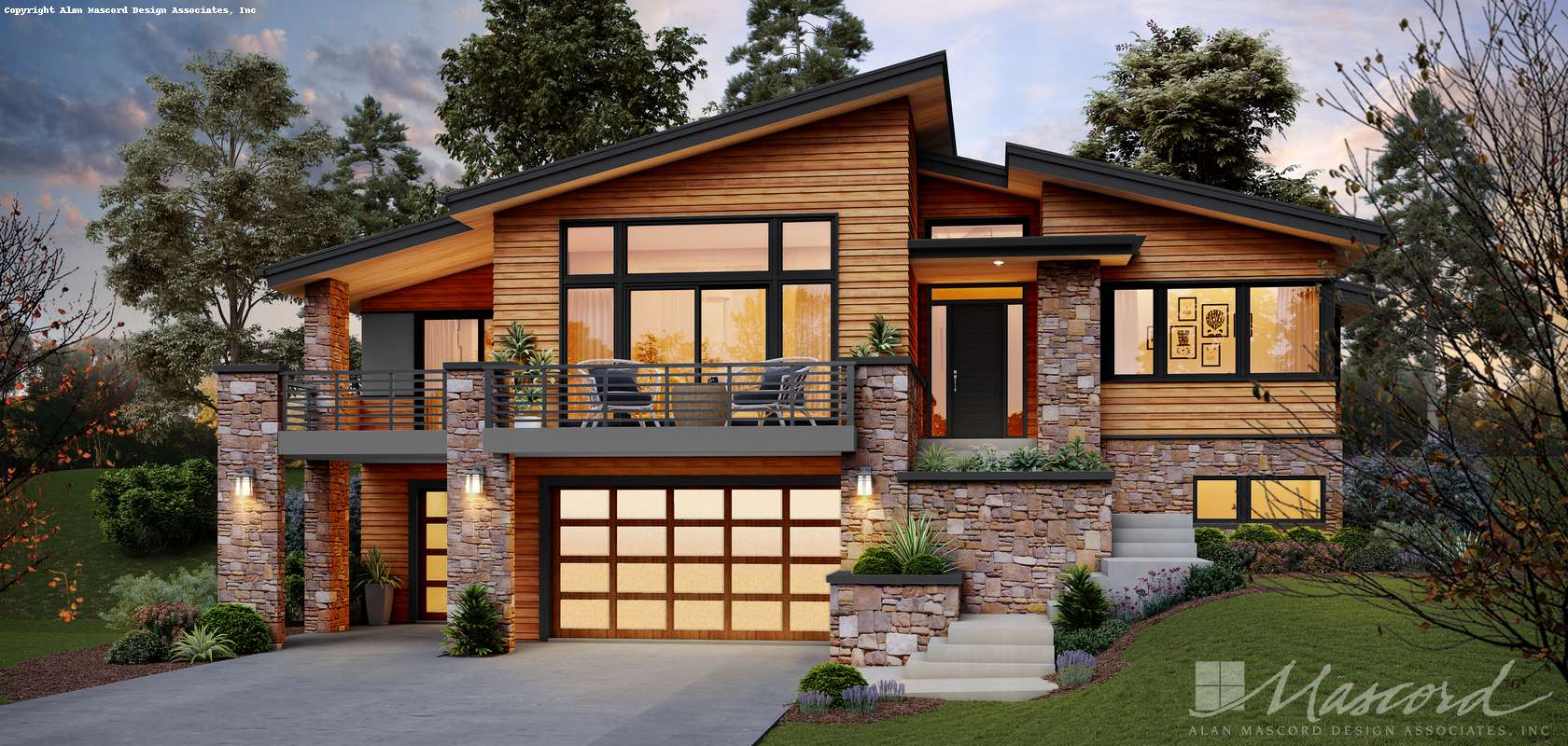 Plans floor custom home. Free clipart simple 3 story house with large bedroom