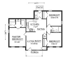 Free clipart simple 3 story house with large bedroom.  best josedas plans