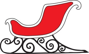 Red sleigh clipart png black and white download Free Sleigh Cliparts, Download Free Clip Art, Free Clip Art on ... png black and white download