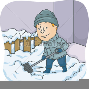 Free clipart snow shoveling png library download Snow Shovel Clipart Free   Free Images at Clker.com - vector clip ... png library download