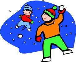 Free clipart snowball fight. Cliparts download clip art