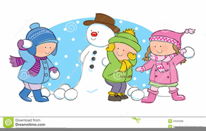Fights images at clker. Free clipart snowball fight