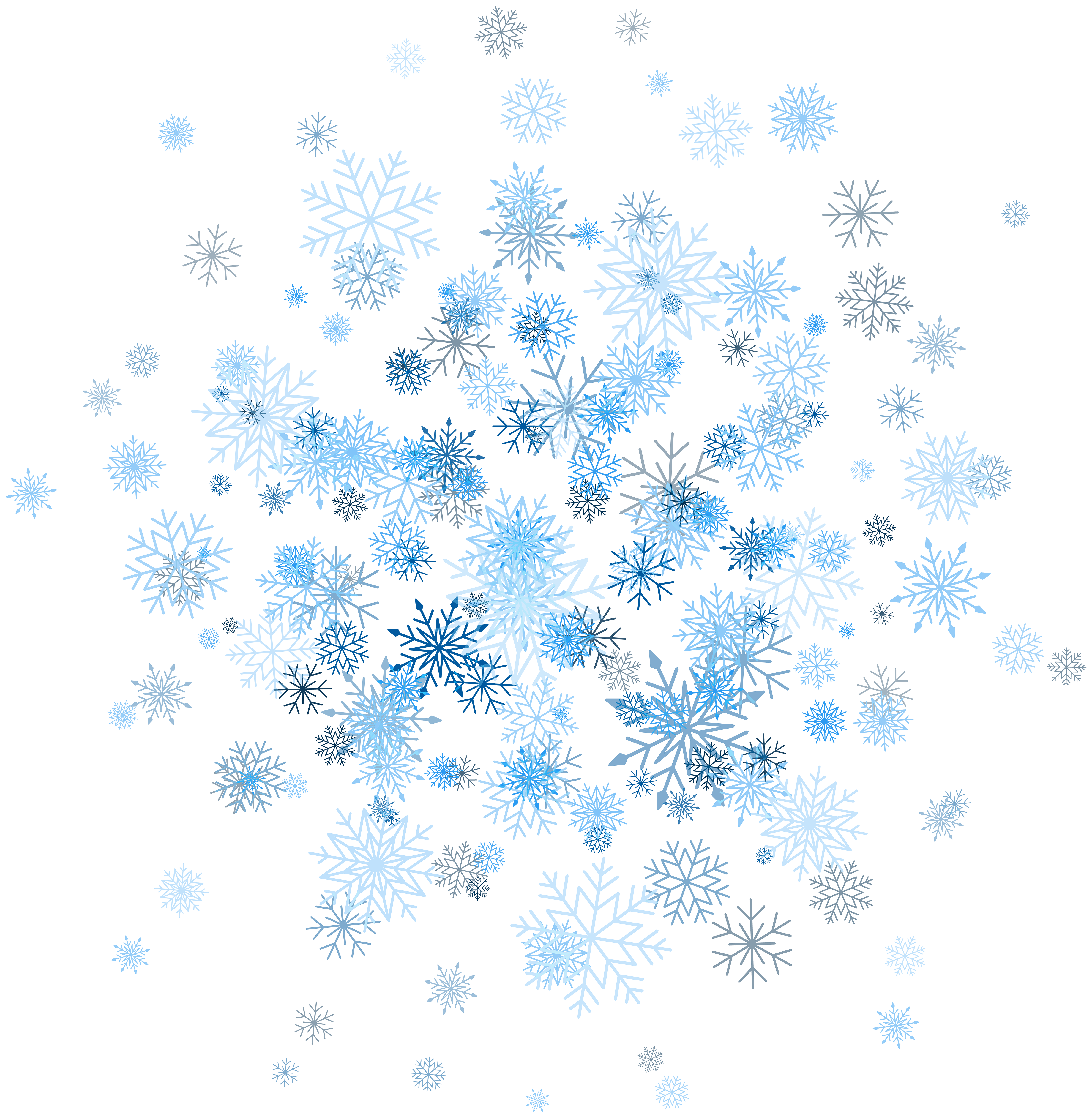 Free clipart snowflake background png freeuse library Snowflakes Decoration PNG Clip Art Image | Gallery Yopriceville ... png freeuse library