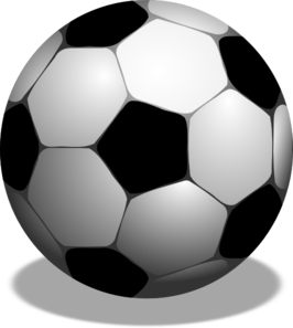 Free clipart soccer ball graphic freeuse download Free clipart soccer ball - ClipartFest graphic freeuse download