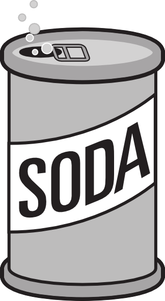 Soda pop clipart free picture royalty free stock Soda Can Clip Art at Clker.com - vector clip art online, royalty ... picture royalty free stock