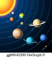 Clip art royalty gograph. Free clipart solar system