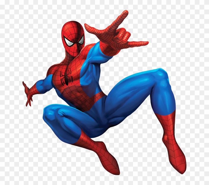 Spiderman comic cliparts