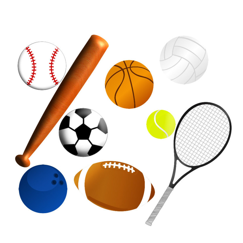 Free clipart sports equipment picture black and white stock Sports Equipment Cliparts - Cliparts Zone picture black and white stock