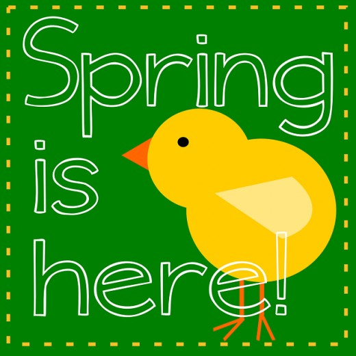 Free clipart spring is here graphic freeuse SPRING CLIP ART | Best Free Clip Art | HubPages graphic freeuse