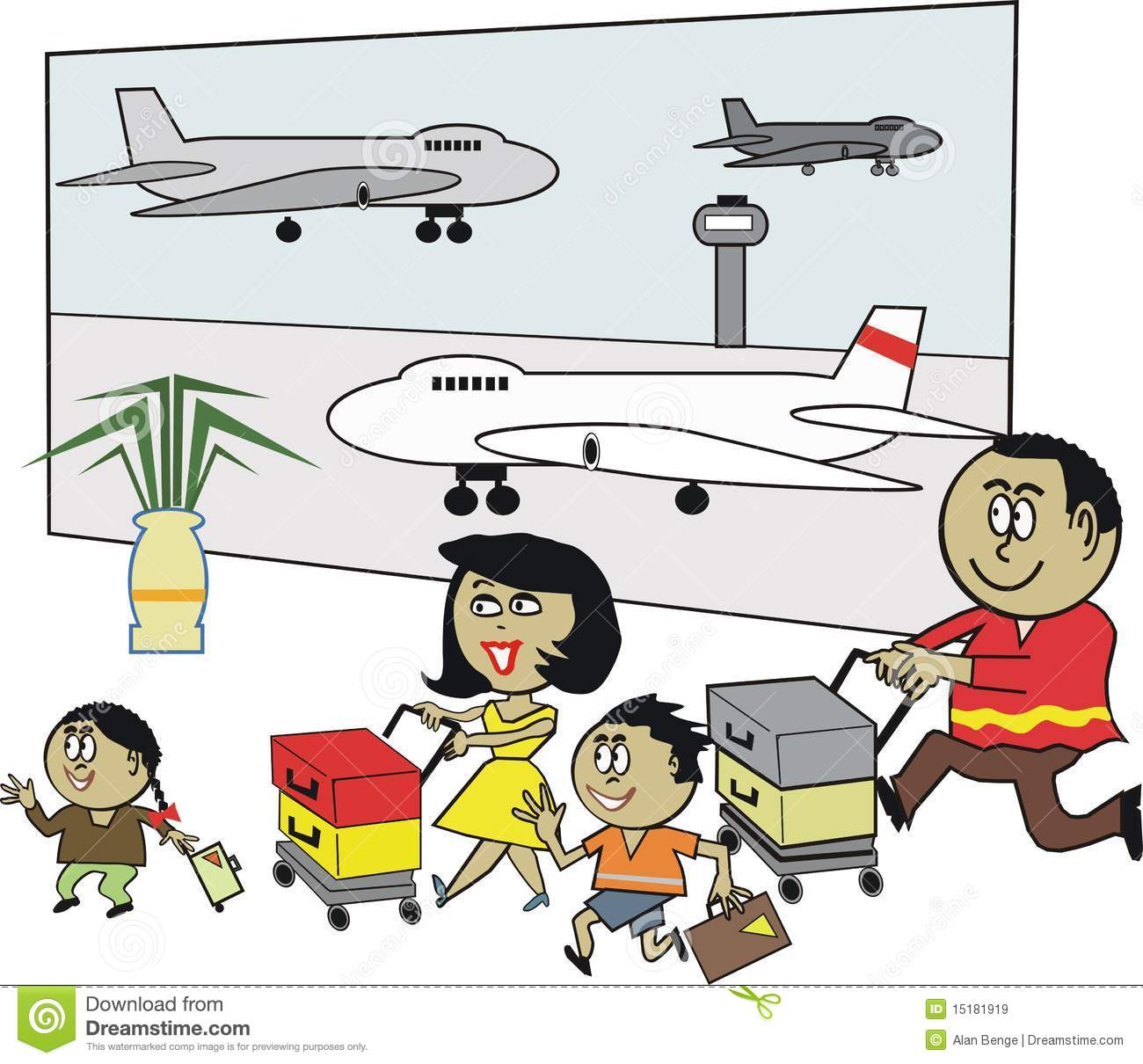 Download best on . Free clipart sprinting through airport