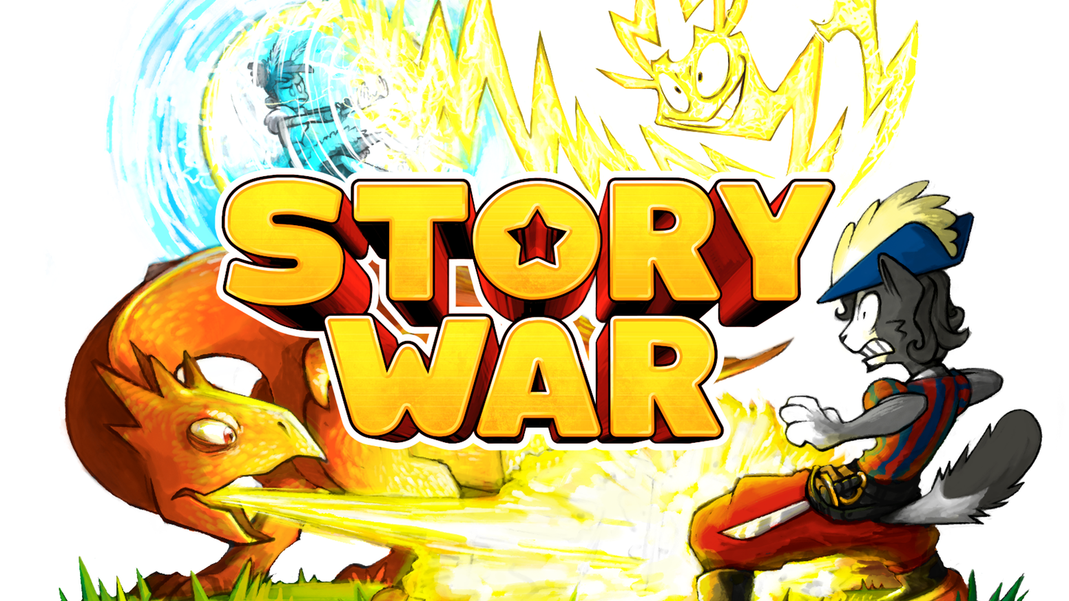 Free clipart st mad dog at the pearly gates png freeuse stock STORY WAR : The Storytelling Party Game by Cantrip Games — Kickstarter png freeuse stock