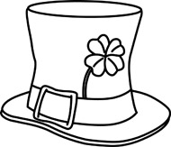 Free clipart st patricks day black and white vector Shamrock Black And White | Free download best Shamrock Black And ... vector
