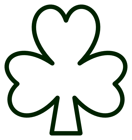 Free clipart st patricks day black and white jpg black and white library Free Png St Patricks Day Black And White & Free St Patricks Day ... jpg black and white library
