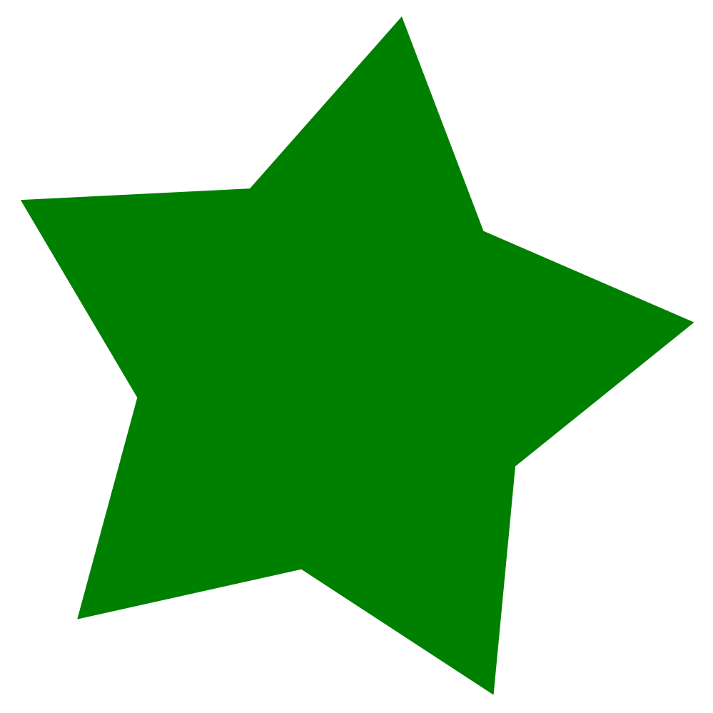 Free clipart star jpg freeuse stock Free Star Clipart Image - 3725, Green Star ~ Free Clipart Images jpg freeuse stock