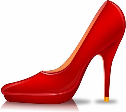Walking red bottom heels clipart vector stock High heels shoe clip art free vector download (220,247 Free vector ... vector stock