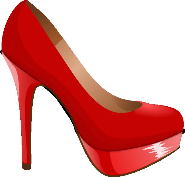 High heels clipart free vector transparent high heel svg | Red High Heel clip art - vector clip art online ... vector transparent