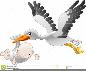 Free clipart stork carrying baby jpg download Free Clipart Stork Carrying Baby   Free Images at Clker.com - vector ... jpg download