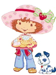 Free clipart strawberry shortcake vector free library Strawberry Shortcake Clip Art | PicGifs.com vector free library