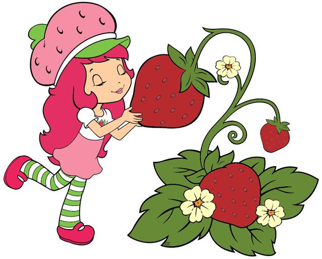 Free clipart strawberry shortcake. Strawberries transparent clip