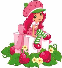 Free clipart strawberry shortcake.  clip art clipartlook