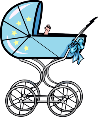 Free clipart stroller graphic freeuse stock Free Baby Carriage Cliparts Download Clip Art Adorable Clipart ... graphic freeuse stock