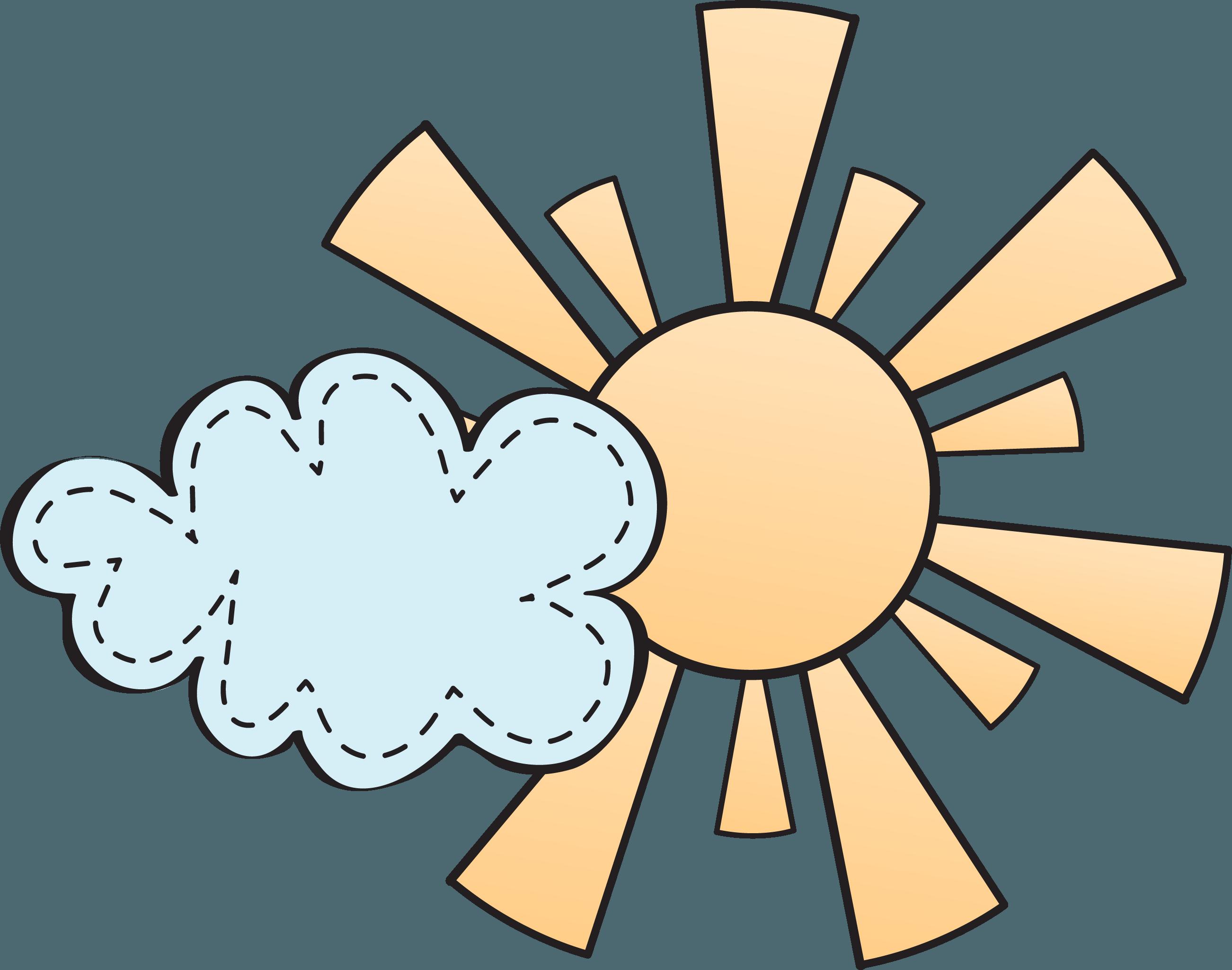 Sun clouds clipart png clip art free stock Blue ribbon Award Clip art - Cartoon sun cartoon clouds 2603*2049 ... clip art free stock