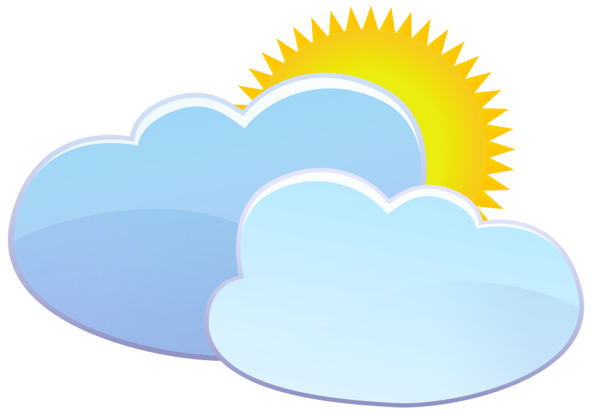 Free clipart sun and clouds vector black and white download clouds and sun weather icon png - Free PNG Images | TOPpng vector black and white download