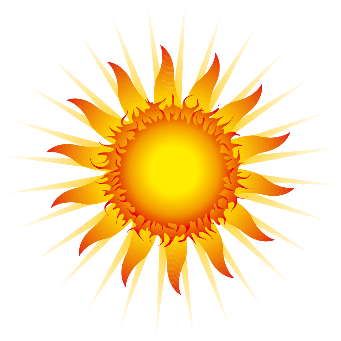 Free clipart sun rays png download Euclidean vector Clip art - Cool sun rays 1112*1112 transprent Png ... png download
