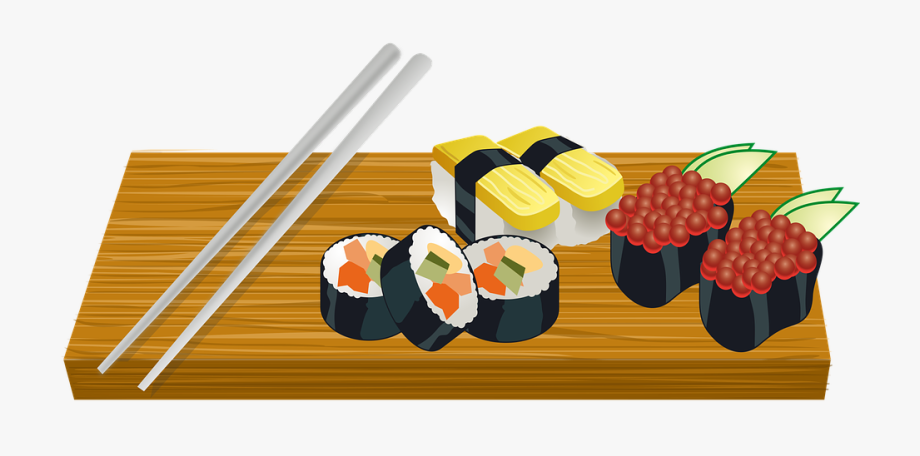 Free clipart sushi. Cliparts on clipartwiki