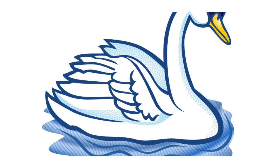 Swan black and white clipart vector freeuse stock Swan Clipart Trumpeter Swan - Clip Art Swan Black And White Free PNG ... vector freeuse stock