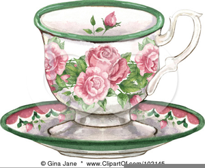 Free clipart tea cups. Royalty border images at