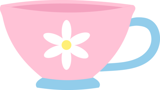 Teapot with cups images clipart