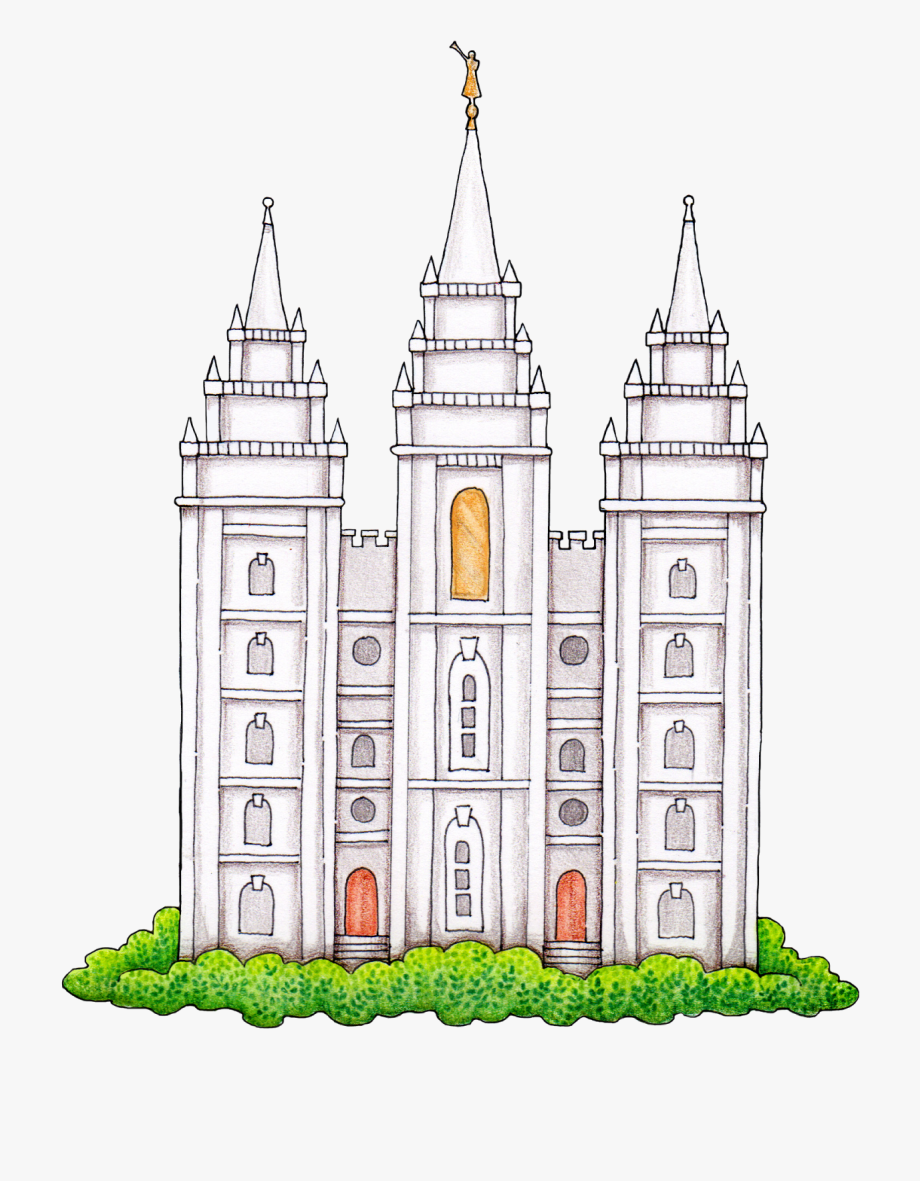 Simple lds temple clipart banner freeuse library Susan Fitch Design - Lds Temple Clipart #597559 - Free Cliparts on ... banner freeuse library