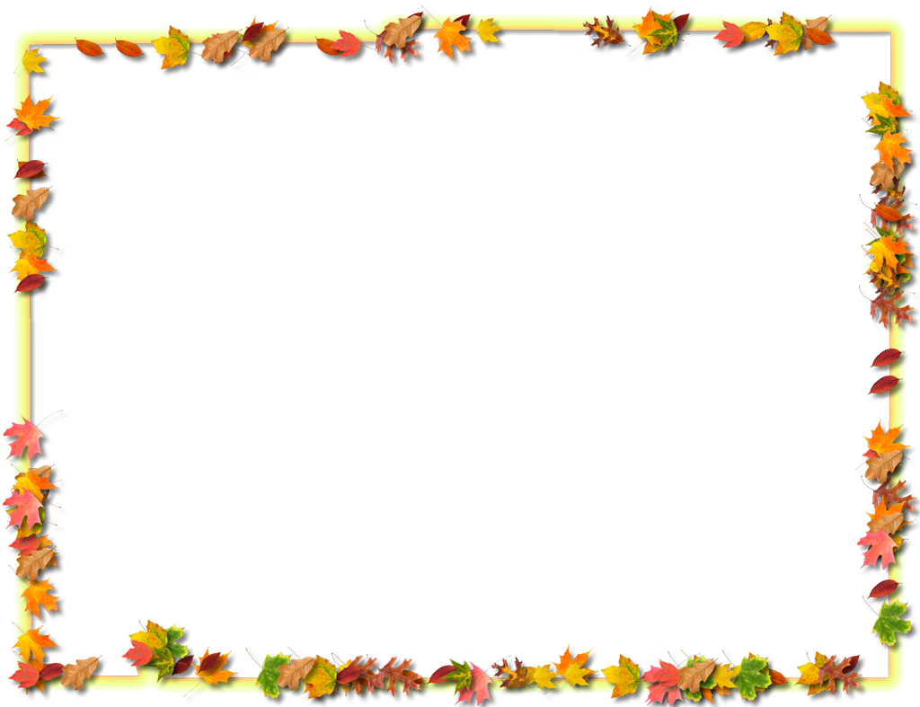 Free thanksgiving border clipart graphic royalty free DeSoto