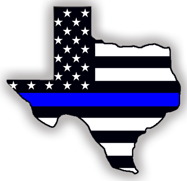Thin blue line cross clipart vector library library Indoor/Outdoor Stickers: Thin Blue Line Texas https://shop ... vector library library