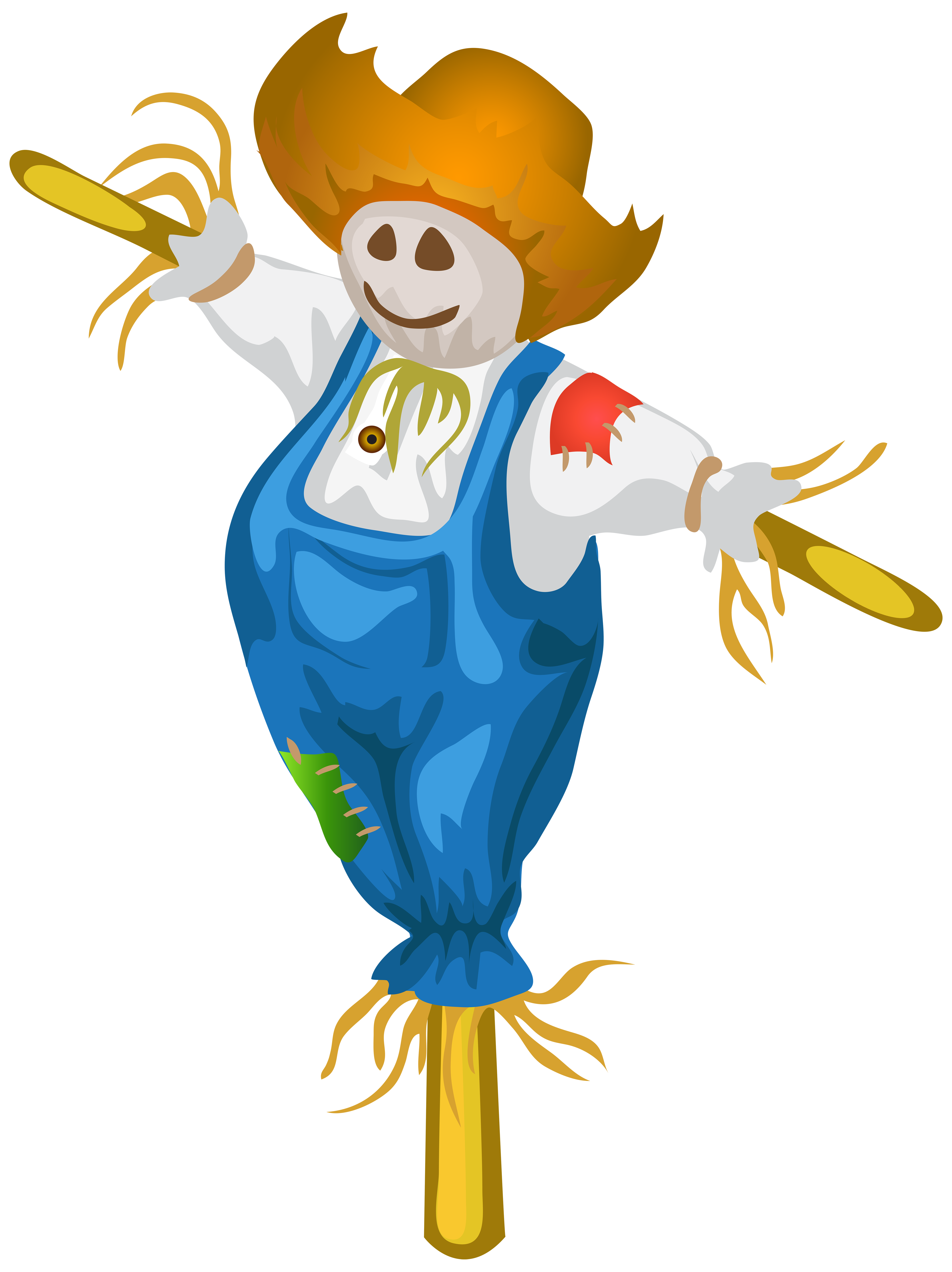 Thanksgiving scarecrow clipart black and white free png freeuse Free Scarecrow Clipart at GetDrawings.com | Free for personal use ... png freeuse