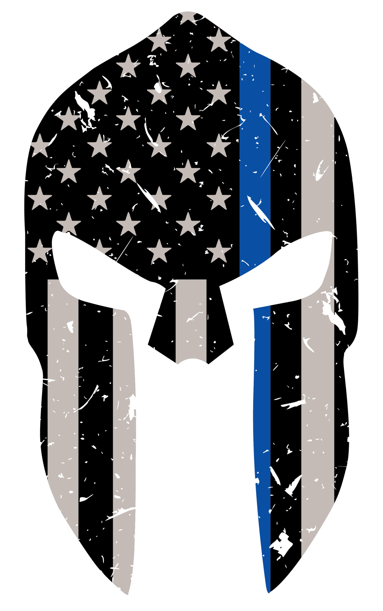 Thin blue line cross clipart picture royalty free stock Blue Line Spartan Sticker | Pinterest | Free shipping, Lifestyle and ... picture royalty free stock