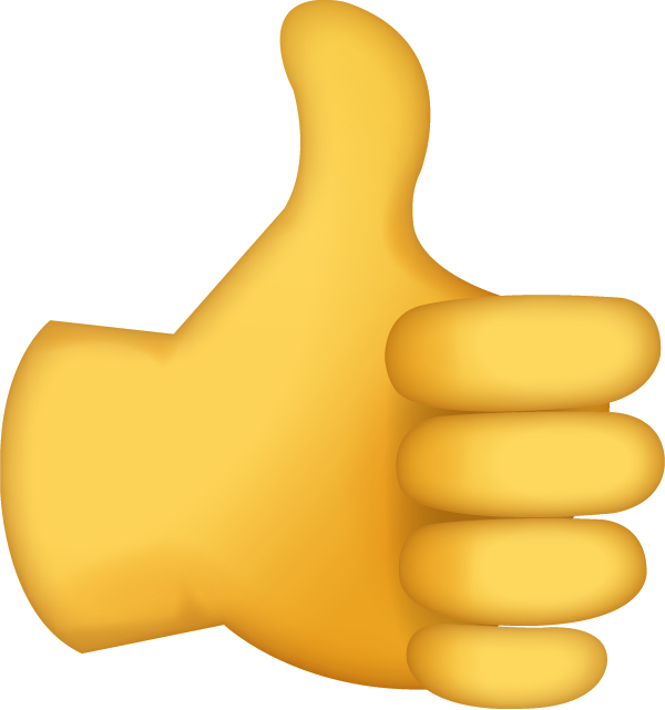 Free clipart thumbs up sign svg freeuse library Thumb signal Emoji OK Clip art - Emoji 600*641 transprent Png Free ... svg freeuse library
