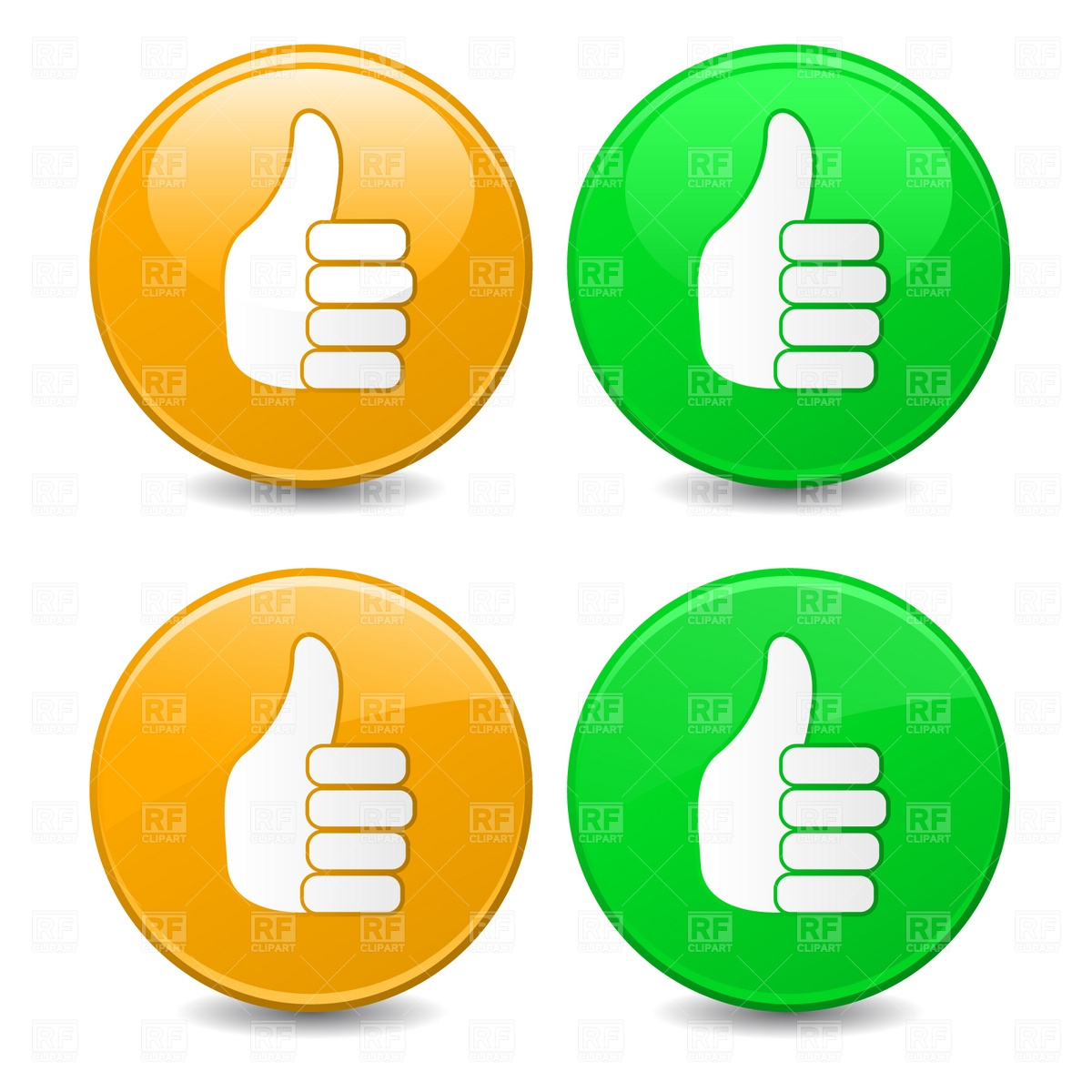 Free clipart thumbs up sign transparent stock Free clipart thumbs up sign - ClipartFest transparent stock