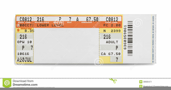 Free clipart ticket stub clip library download Clipart Concert Ticket Stub | Free Images at Clker.com - vector clip ... clip library download