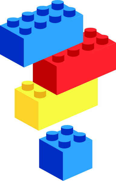 Free clipart ton of bricks royalty free stock Lego Block Art Clip Art At Clker Com Vector Clip Art Online Royalty ... royalty free stock
