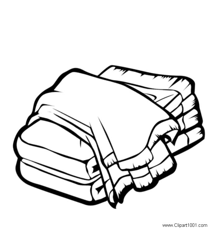 Free clipart towel