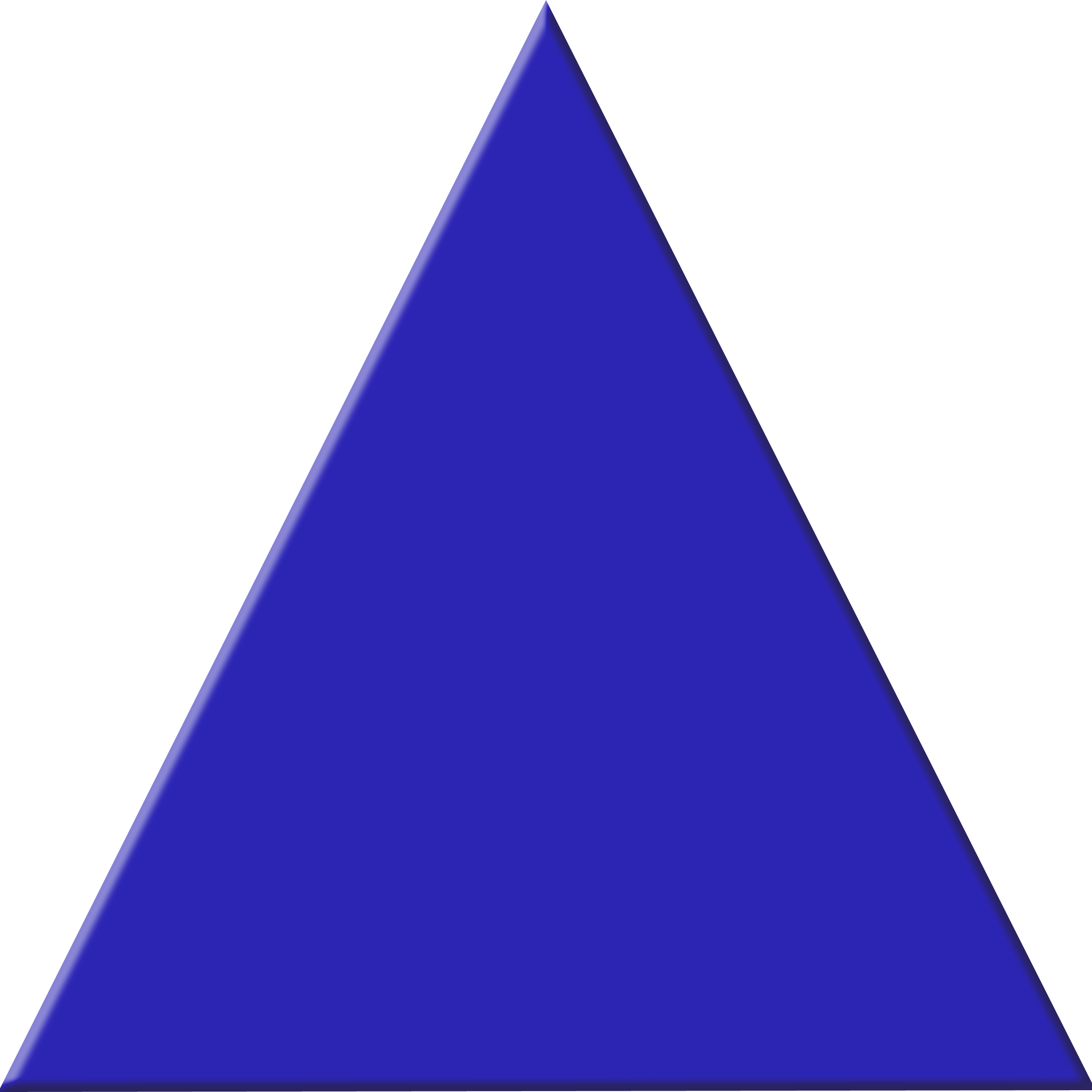 Free clipart triangle. Blue images at clker