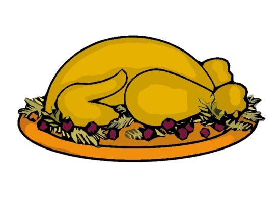 Free clipart turkey dinner jpg transparent Free Turkey Dinner Clipart, Download Free Clip Art, Free Clip Art on ... jpg transparent