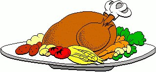 Free clipart turkey dinner clip art transparent stock 76+ Clipart Thanksgiving Dinner | ClipartLook clip art transparent stock