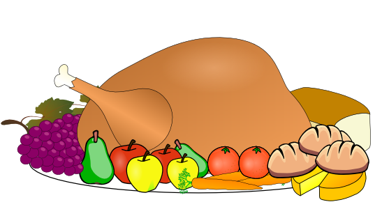 Turkey supper free clipart picture freeuse library Turkey Dinner Clipart | Clipart Panda - Free Clipart Images picture freeuse library